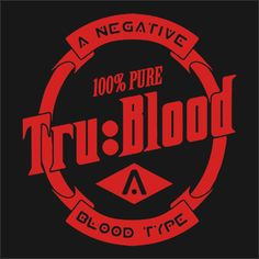 Tru Blood T-Shirt A drink with a little bite! This Tru Blood T-Shirt is inspired by the show True Blood. Poputees.com is not affiliated with HBO, Tru Blood, or the show True Blood.