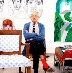the divine Mr. Hockney