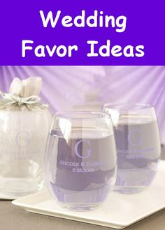 Wedding Favors, Gifts, and Accessories - Favors Gallery 2