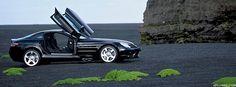Mercedes-Benz SLR McLaren — #mercedesbenzslrmclaren #mercedesbenzslr #mercedesbenz #mecedes #benz #slr #mclaren #benzo #black #beach #sand — http://www.maxamp.com