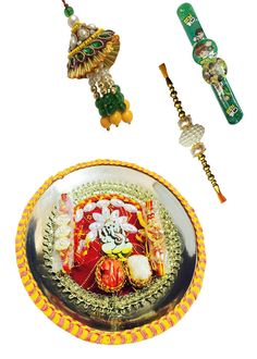 #Exclusive #Combo #Collection Of #Thali and #Rakhi by Return Favors.
