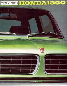 Honda 1300 Japan Brochure 1969