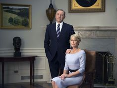 House of Cards ... Kevin Spacey & Robin Wright ... Set in present-day Washington, D.C., House of Cards is the story of Frank Underwood (Kevin Spacey), a Democrat from South Carolina's 5th congressional district and the House Majority Whip, who, after getting passed over for appointment as Secretary of State, decides to exact his revenge on those who betrayed him.