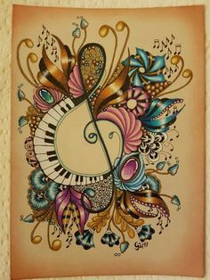 Zentangle and Zengems Zentangle Drawings, Doodles Zentangles, Doodle Drawings, Tangle Doodle, Zen Doodle, Doodle Art, Zantangle Art, Zen Art, Doodle Patterns