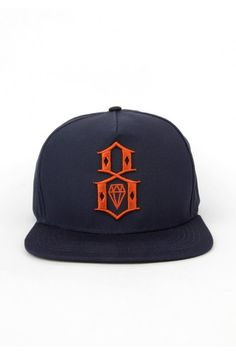 Rebel8 Clothing R8 Logo Snapback Hat - Black $32.00 || British Indie Clothing - AcquireGarms.com