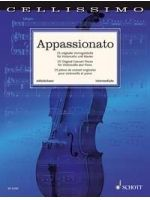 DIVERSE - APPASSIONATO 25 Original Concert Pieces - € 23,00 Cello klassiek, Cello/Piano, SCHOTT ED22354
