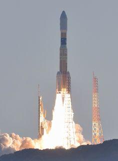 JAXA NIPPON H-IIB rocket from the H-II rocket family.