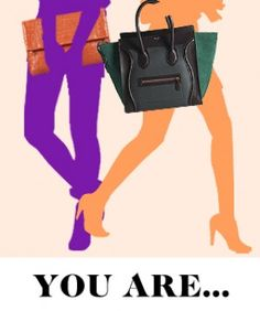 What Your Bag-Holding Style Says About You  (Ms Daisy is a thumb to..2013)