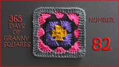 365 Days of Granny Squares Number 82