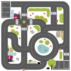 dessin circuit voiture imprimer - Recherche Google