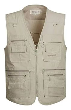 Fishing Vest Men Summer Traveler Sleeveless Jackets Waistcoat Outdoors Casual Vest With Many Pockets Large Size - Summer Vest, Men Summer, Outdoor Vest, Hiking Outdoor, Fishing Vest, Sleeveless Jacket, Men Hiking, Wing Chun, Kung Fu