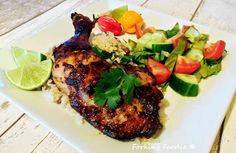 Forking Foodie: Jamaican Jerk Chicken (includes Thermomix instructions)