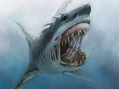 shark pics in high resolution Shark Wallpaper HD Shark Pictures Ocean Creatures, Fantasy Creatures, Mythical Creatures, Megalodon, Mega Shark, Monster Shark, Shark Pictures, Shark Pics, Shark Logo