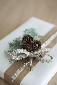 dekoideen weihnachten weihnachtsgeschenke verpacken