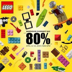 626a5a1a4bad9 LEGO Warehouse Clearance Sale - April 12 to 14, 2019