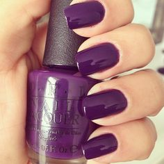 purple I should paint my nails the color of each month's lesson while we learn our colors! January is lesson 1 purple