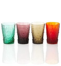 4 Vintage Tumbler Set  £22.00 (I want these, I wish the pound was equal to the dollar!!)