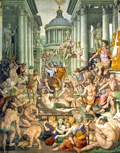 Agnolo di Cosimo (Il Bronzino), The Martyrdom of Saint Lawrence, 1569
