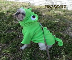 French Bulldog Boston Terrier Pug Dog Froodies Hoodies Costume Tangled Chameleon #FroodiesHoodies