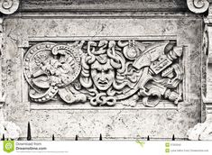 Bas-relief In White Marble On A Building Facade - Download From Over 37 Million High Quality Stock Photos, Images, Vectors. Sign up for FREE today. Image: 37353342