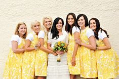 Is this the wallpaper dress on the bridesmaids???