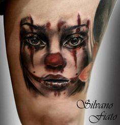 Tattoo by Silvano Fiato at Eternal Tattoo Studio in Genova, Italy; Original Artwork by Christina Otero