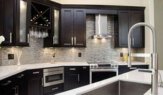 Waypoint Living Spaces Cabinetry & Quartz Counters