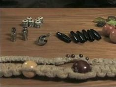 How to Make Hemp Necklaces : Types of Hemp Necklace Beads - YouTube