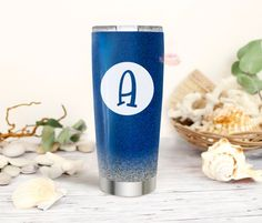 Excited to share this item from my #etsy shop: Monogram, Initial Decal, Initial Sticker, Letter Decal, Letter Sticker, Circle Initial Monogram Frame, Monogram Initials, Letter Decals, Yeti Cup, Mailbox, Tumbler, Etsy Shop, Lettering, Stickers