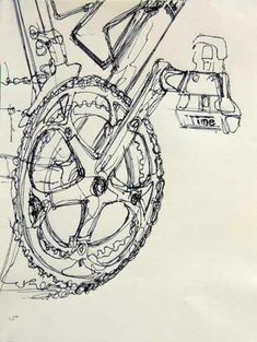 drawings and paintings of bicycles - Google Search