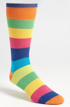86887f8b08d Lorenzo Uomo Stripe Socks (3 for  27) available at  Nordstrom Silly Socks