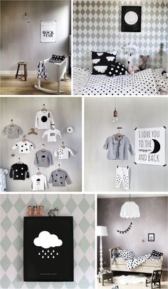 This shop is full of the cutest black & white posters, wall stickers and decorations for kids rooms.