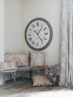 cowparsley - love the clock, would look good downstairs