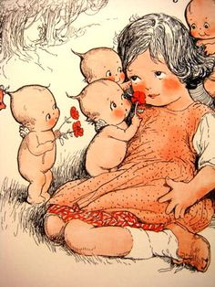 Rose O'Neill, from the Kewpies and Their Book, 1911