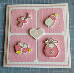 Randis hobbyverden: BABYKORT rosa