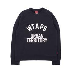 Wtaps Urban Territory Crewneck Sweatshirt - Crisp premium cotton Urban Territory Crewneck Sweatshirt from WTAPS.