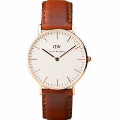 Daniel Wellington Damen-Armbanduhr Classic St Andrews Lady Leder 0507DW: Amazon.de: Uhren
