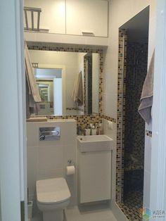 Интерьер ванной комнаты, маленькая ванная фото