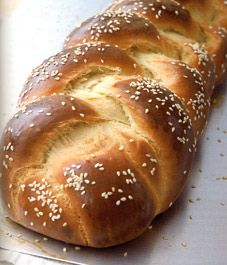 Traditional challah - I love this bread.