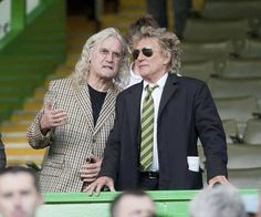 Billy Connelly & Rod Stewart Can Often Be Seen Cheering On Glasgow Celtic