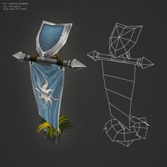 Buy Low Poly RTS Human Banner by BITGEM on Get started quickly on your game project with this low poly, hand painted real time strategy banner. Modelos Low Poly, Modelos 3d, Environment Concept Art, Environment Design, Prop Design, Game Design, Low Poly Games, Hand Painted Textures, Game Props