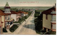 7443 Handcolored Postcard Cove Street Port Maitland Nova Scotia Canada NS | eBay