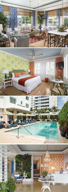 Verblijven in een bijzondere accommodatie in Miami Beach? Ga dan naar driesterren Circa 39 Hotel. Dit kleurrijke boutiquehotel ligt op loopafstand van het strand. In het hotel kun je verkoeling zoeken in het zwembad met zonneterras en gebruik maken van fitnessfaciliteiten. Een prachtig hotel op een ideale locatie!