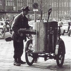 straatveger +- 1960