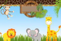 <center>Safari Meninos</center> | Montando minha festa