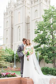Salt Lake City Temple | LDS Temple Wedding | LDS Temples | LDS Bride | LDS Wedding | LDS Wedding Photography | LDS Temple Wedding Photography | AKStudioDesign.com | Capture your perfect wedding day at the Temple. Contact us to book your wedding! #slctemple #saltlaketemplewedding #slcbride #ldsbride