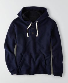 Trend experts present right up five natural new methods to choose a hoodie without ever having resembling an angst-ridden. Stylish Hoodies, Cool Hoodies, Nautical Outfits, Nautical Fashion, Hoodie Outfit, Sweater Hoodie, American Eagle Outfits, American Eagle Men, Navy Blue Hoodie