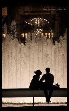 NYC. Lincoln Center Fountain