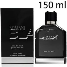 Armani De Nuit 150ml Uomo