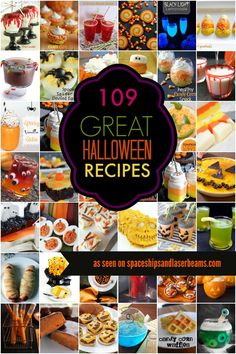 Kids' Party Food Ideas: 109 Halloween Recipes - Spaceships and Laser Beams